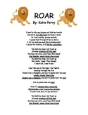 "Literary Device Identification based on the song ""ROAR"""