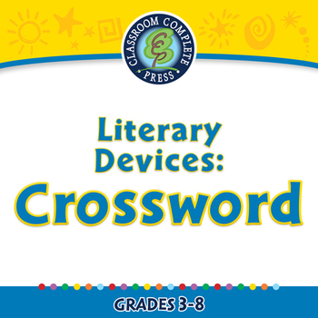 Literary Devices: Crossword - PC Gr. 3-8