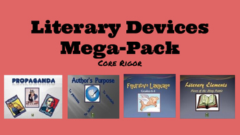 Literary Devices Mega-Pack