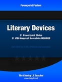 Literary Devices Powerpoint Posters