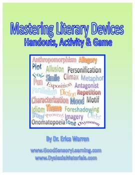 Literary Devices:Literary Techniques, Elements and Figurat
