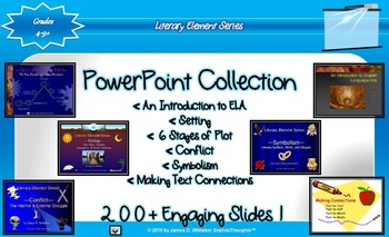 Literary Element PowerPoint Collection Plot, Setting, Symb