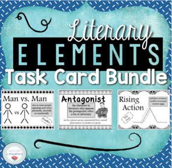 Literary Element Task Cards