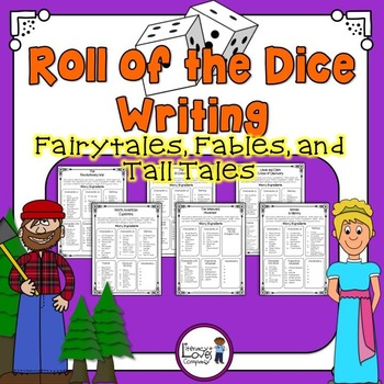 Roll of the Dice Creative Writing {Fairytales, Fables, and