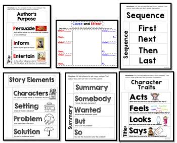 Literary Elements Foldable