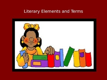 Literary Elements and Terms PowerPoint