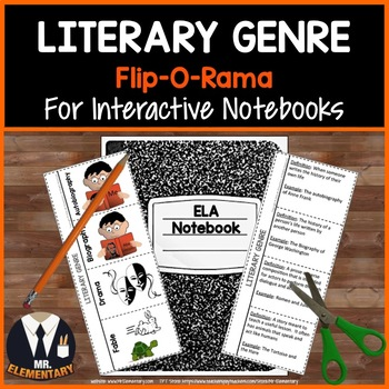 Genre Interactive Notebook