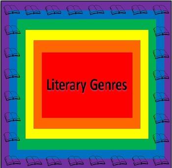 Literary Genres PowerPoint & Printables