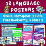 Literary Language Posters (12 total)