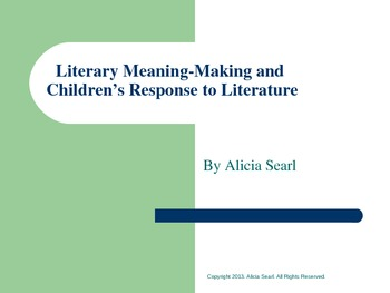 Literary Meaning
