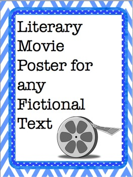 Literary Movie Poster