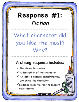 Literary Response Prompt 1 (chose a favorite character)
