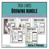 Literary Analysis Task Cards: ** Growing Bundle **
