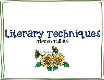 Literary Techniques Journal Assessment