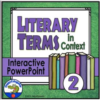 Literary Terms 2