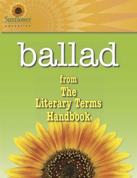 Literary Terms: Ballad