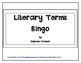 Literary Terms Bingo