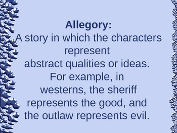 Literary Terms PPT