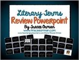 Literary Terms Review Game Powerpoint