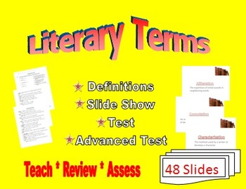 Literary Terms - Literary Devices