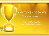 Literary Terms and Figurative Language Battle of the Sexes Game!