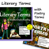 Literary Terms - for Middle Grades Reading
