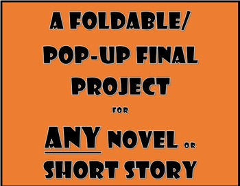 Novel Project: ANY Piece of Literature