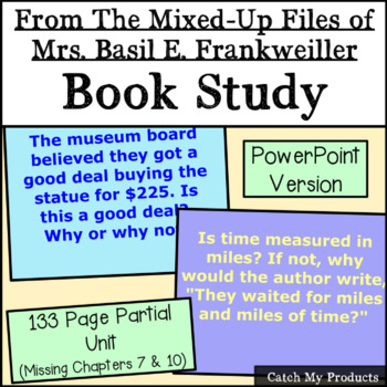 From the Mixed-Up Files of Mrs. Basil E. Frankweiller: A L