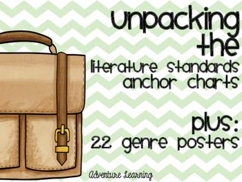 Unpack the Literature Standards: Plus 22 Genre Posters!