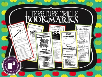 Literature Circle Bookmarks