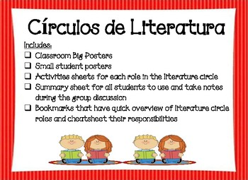 Spanish Literature Circles / Circulos de Literatura