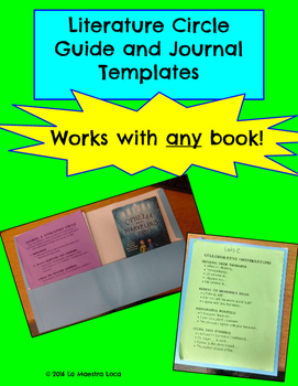 Literature Circle Guide and Journal Materials: Works with