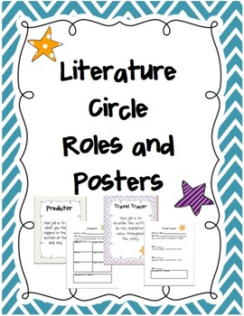 Literature Circle Posters and Recording Sheets