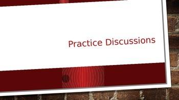 Literature Circle Practice Discussion