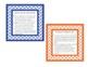 Literature Circle Role Cards (Chevron colorful borders!)