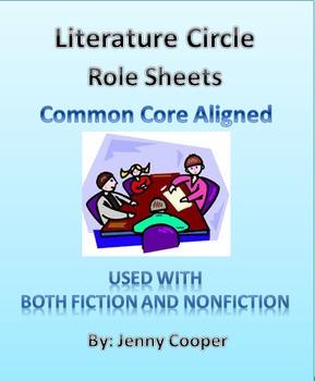 Literature Circle Role Sheets - Common Core Aligned