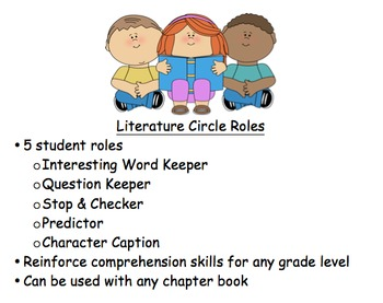 Literature Circle Roles Bundle