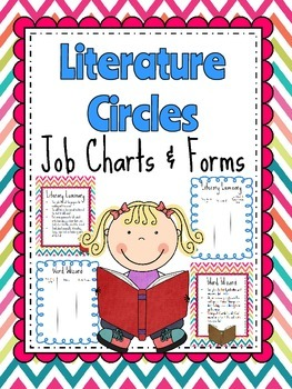 Literature Circle Roles - Posters and Form