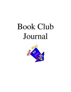 Literature Circle Journal