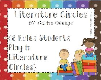 Literature Circles - 8 Roles For Students