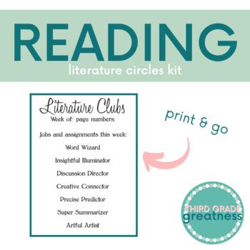 Literature Circles Kit