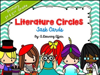 Primary Literature Circles Task Cards