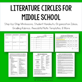 Literature Circles for Middle School {Common Core Aligned}