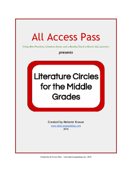 Literature Circles for the Middle Grades