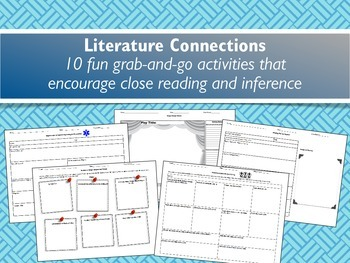 Literature Connections: Fun Grab-and-Go
