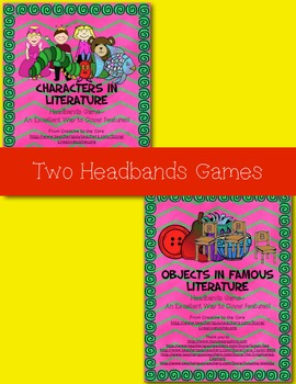 Literature Headbands Game Bundle!