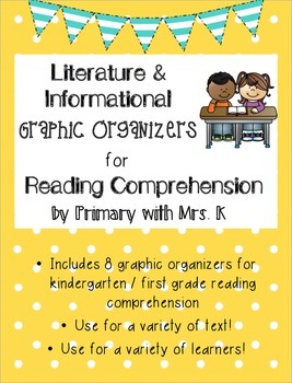 Literature & Informational Graphic Organizers (based on Co