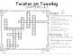 Twister on Tuesday Novel Study
