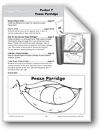 Literature Pocket/Nursery Rhyme: Pease Porridge