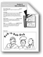 Literature Pocket/Nursery Rhyme: Rub-a-Dub-Dub